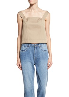 Robert Rodriguez Sleeveless Open-Back Top