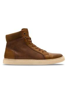 Robert Wayne Daniel Polyurethane High-Top Sneakers