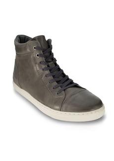 Robert Wayne Daxton Leather High-Top Sneakers