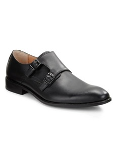 Robert Wayne Luther Leather Monk Strap Shoes