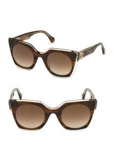 Roberto Cavalli 48MM Square Sunglasses