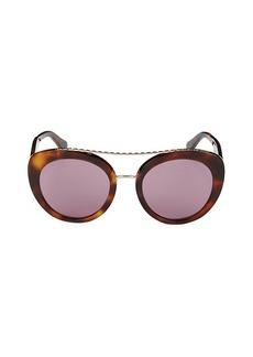 Roberto Cavalli 54MM Cat Eye Chain-Linked Sunglasses