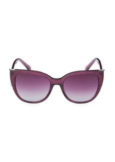 Roberto Cavalli 54MM Oversized Cat Eye Sunglasses