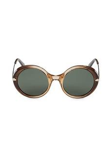 Roberto Cavalli 54MM Round Eye Sunglasses