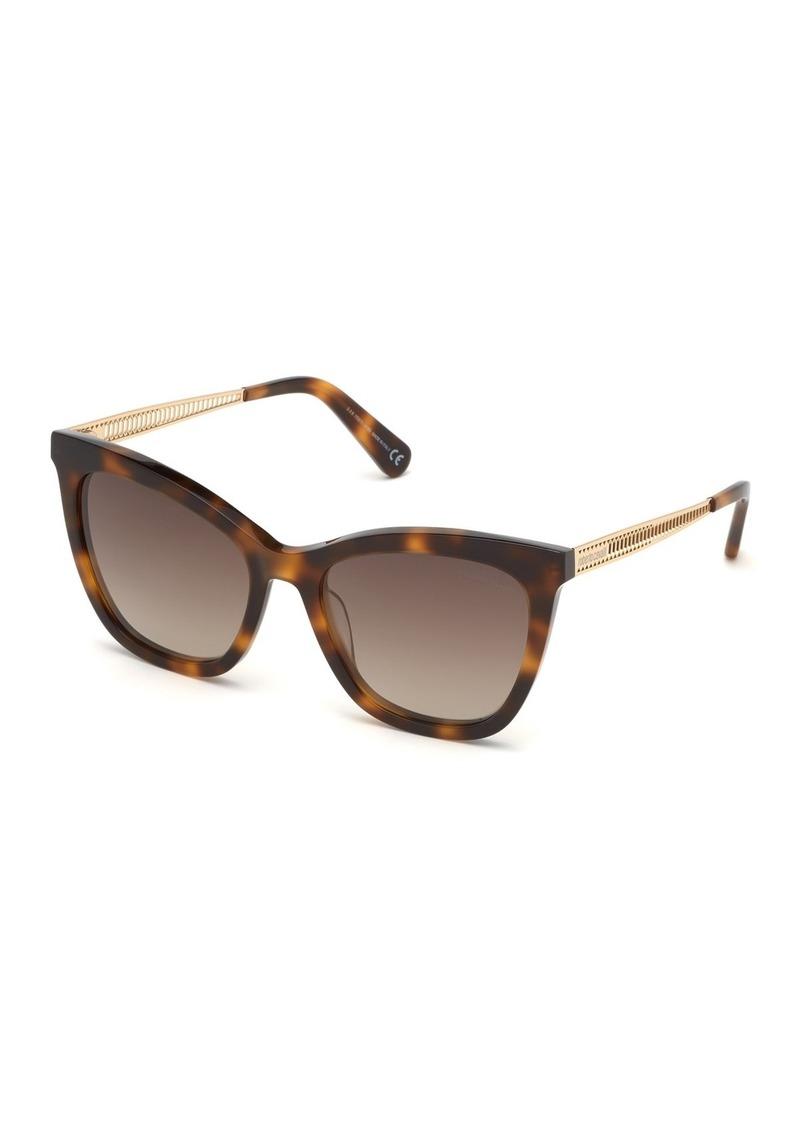 Roberto Cavalli 55mm Cat Eye Sunglasses