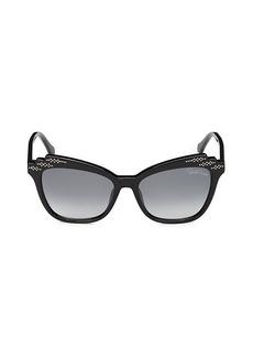 Roberto Cavalli 55MM Squared Cat Eye Sunglasses