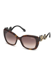 Roberto Cavalli 56mm Chianni Square Sunglasses