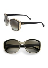 Roberto Cavalli 56MM Crystal-Embellished Cat Eye Sunglasses