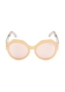 Roberto Cavalli 56MM Oval Sunglasses