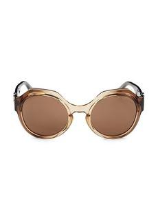 Roberto Cavalli 56MM Round Sunglasses