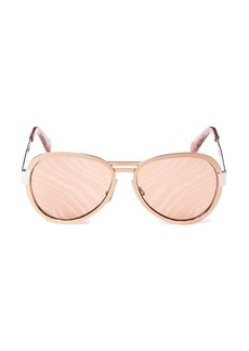 Roberto Cavalli 59MM Oval Sunglasses