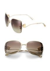 Roberto Cavalli 61MM Oversized Square Sunglasses