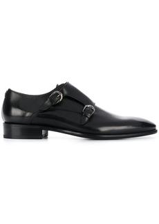Roberto Cavalli almond toe monk shoes