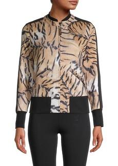 Roberto Cavalli Animal-Print Jacket
