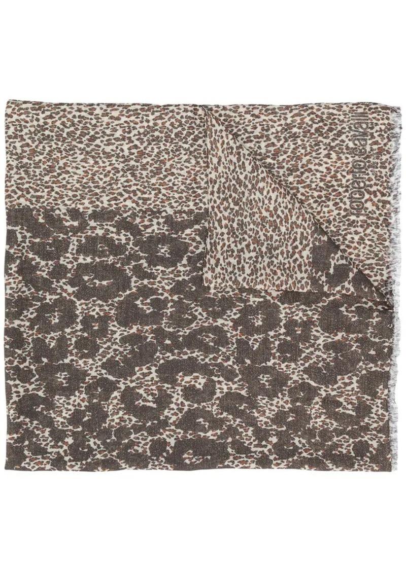 Animal Print Scarf Roberto Cavalli