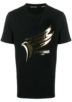 Roberto Cavalli bird logo T-shirt