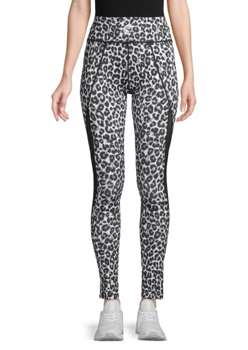 Roberto Cavalli Cheetah-Print Pull-On Leggings