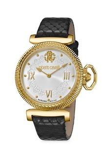 Roberto Cavalli Classic Quartz Silver Dial Watch