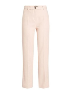 Roberto Cavalli Cotton Pants with Silk