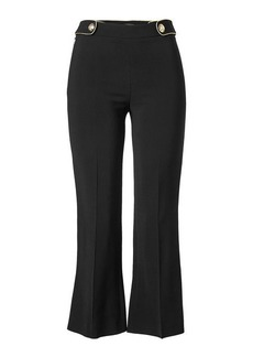 Roberto Cavalli Cropped Pants with Flared Ankles