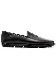 Roberto Cavalli debossed-logo loafers