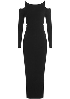 Roberto Cavalli Dress with Cut-Out Shoulders