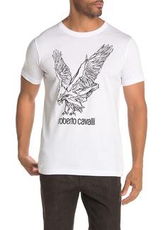 Roberto Cavalli Eagle Graphic Logo T-Shirt