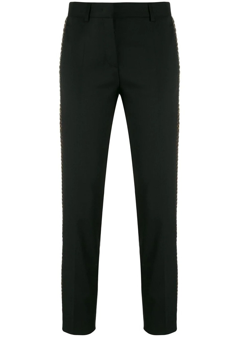 Roberto Cavalli embellished side stripe trousers