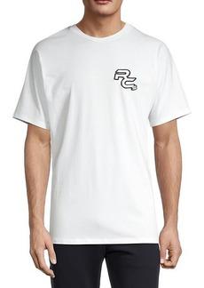 Roberto Cavalli Embroidered Logo Stretch T-Shirt