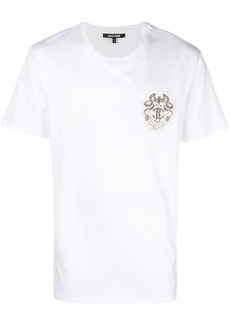 Roberto Cavalli embroidered logo T-shirt
