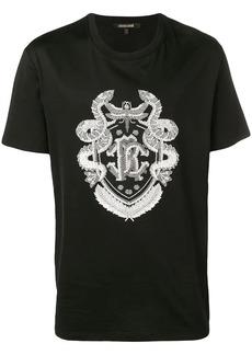 Roberto Cavalli embroidered T-shirt