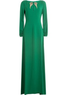 Roberto Cavalli Floor Length Dress with Embellishment