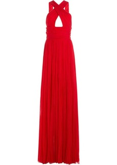 Roberto Cavalli Floor Length Silk Gown