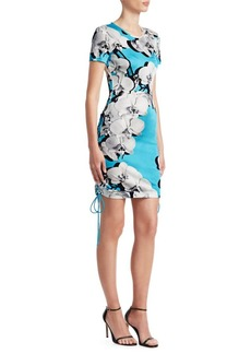 Roberto Cavalli Floral Tee Shift Dress