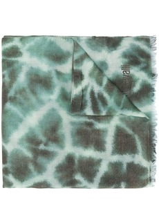 Roberto Cavalli giraffe-print scarf