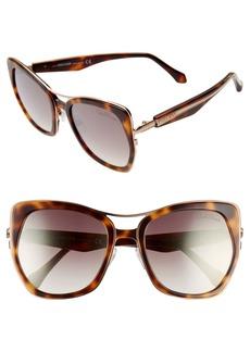 Roberto Cavalli Gradient Cat Eye 55mm Sunglasses