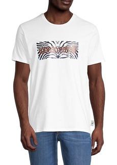 Roberto Cavalli Graphic Logo T-Shirt