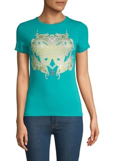 Roberto Cavalli Graphic Short-Sleeve Tee
