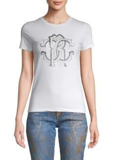 Roberto Cavalli Graphic Stretch Tee