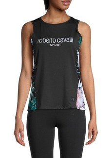 Roberto Cavalli Graphic Tank Top