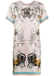 Roberto Cavalli Hybrid Animals printed dress