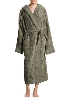 Roberto Cavalli Jerapha Textured Cotton Bathrobe