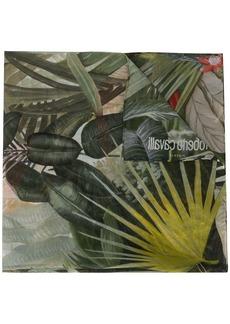 Roberto Cavalli jungle pattern scarf