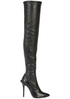 Roberto Cavalli knee length boots