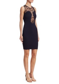 Roberto Cavalli Lace Bodycon Dress