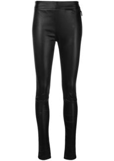 Roberto Cavalli leather leggings