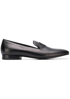 Roberto Cavalli logo appliqué slippers