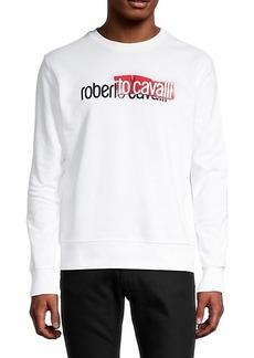Roberto Cavalli Logo Crewneck Sweater
