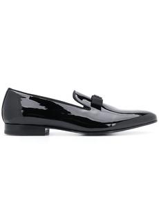 Roberto Cavalli logo detail loafers