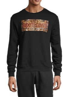 Roberto Cavalli Logo Graphic Sweatshirt